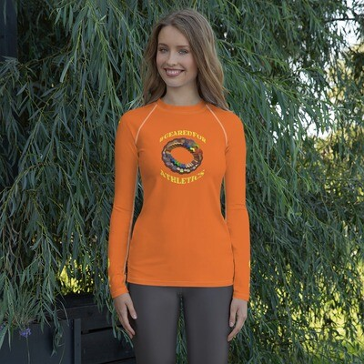 #GearedFor Athletics:  Rashguard for Women