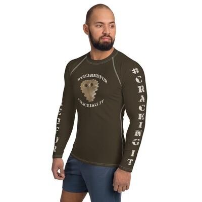 #GearedFor Cracking It:  Rashguard for Men