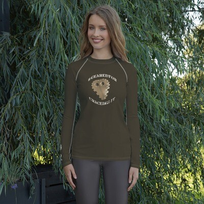 #GearedFor Cracking It:  Rashguard for Women