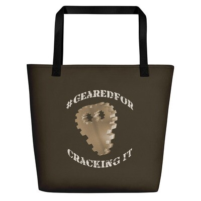 #GearedFor Cracking It: Bag - Beach or Groceries