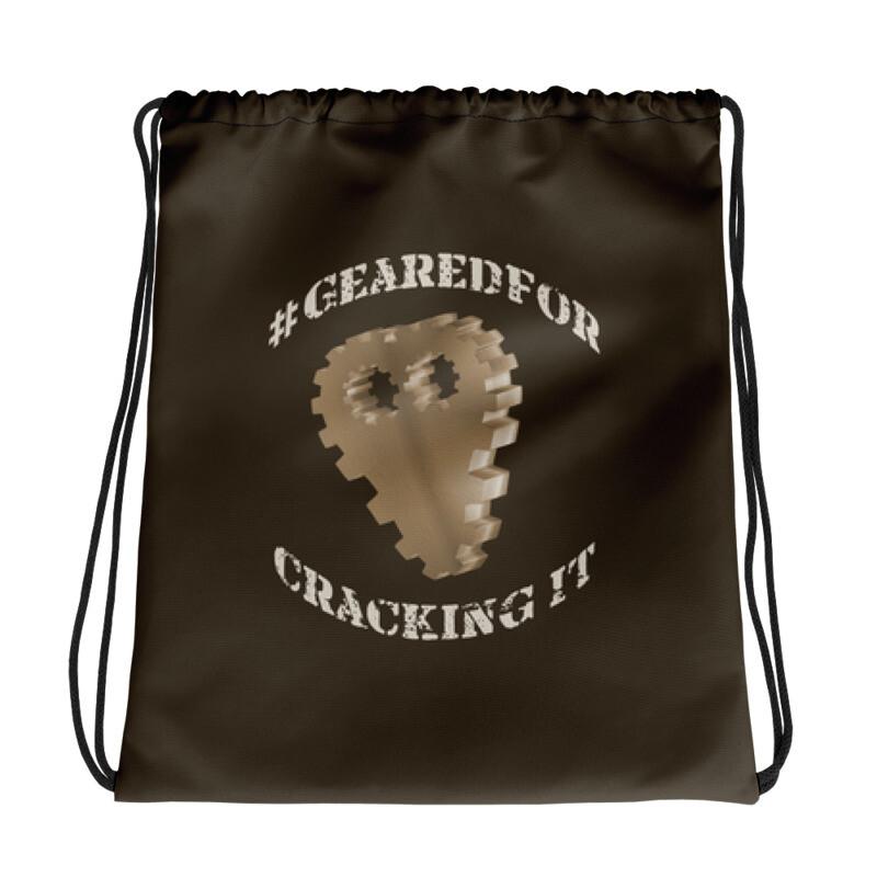 #GearedFor Cracking It: Bag - Big Drawstring