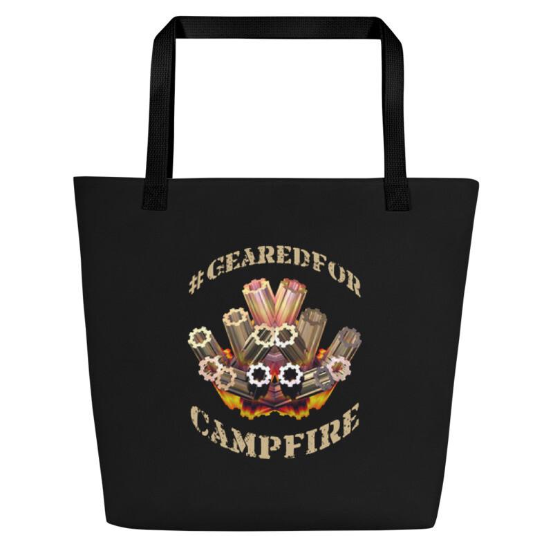 #GearedFor Campfire 2: Bag - Beach or Groceries
