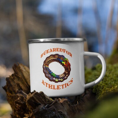 #GearedFor Athletics: Coffee Mug, enamel