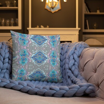 Candy Splatter: Square Premium Pillow