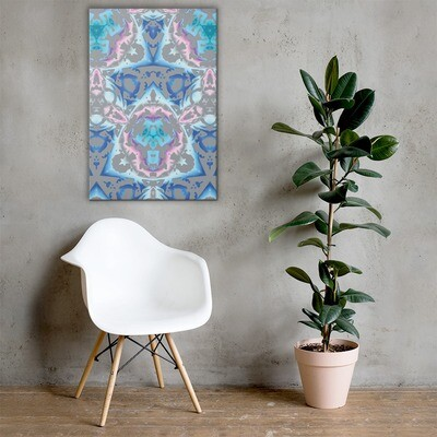 Candy Splatter: Big Canvas Print