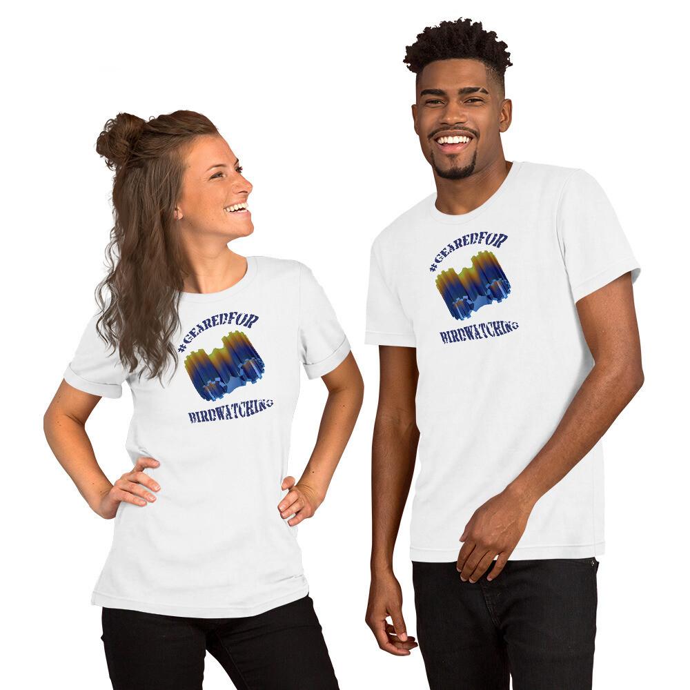 #GearedFor Birdwatching:  T-shirt - Premium 100% Cotton