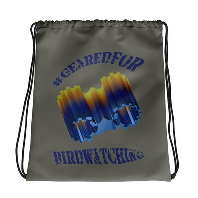 #GearedFor Birdwatching: Bag - Big Drawstring