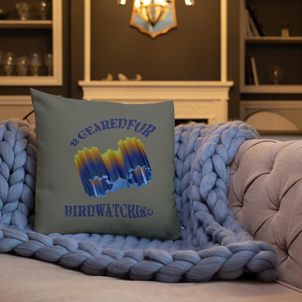 #GearedFor Birdwatching: Square Premium Pillow