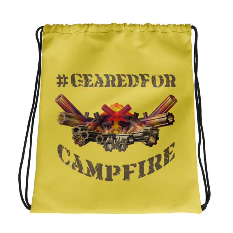 #GearedFor Campfire 1: Bag - Big Drawstring