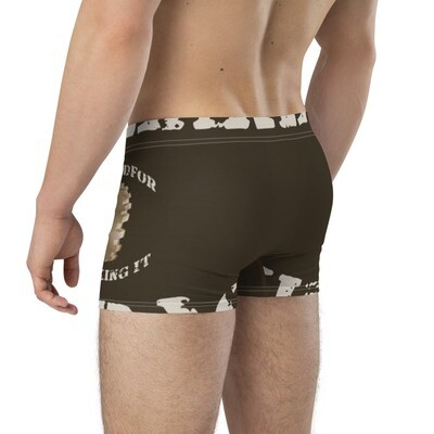 #GearedFor Cracking It:  Boxer Briefs