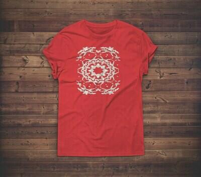 Floral Lace T-shirt Design 1 for sale