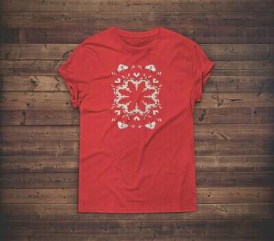 Floral Lace T-shirt Design 2 for sale