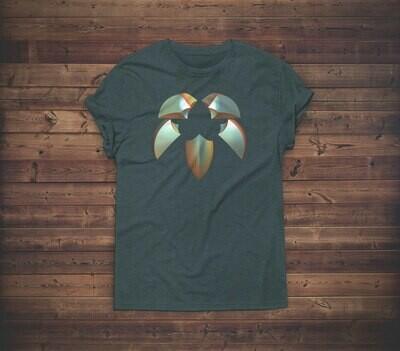 3D Stone Carved Symbol T-shirt Design 1A for sale