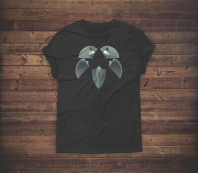 3D Stone Carved Symbol T-shirt Design 1B for sale