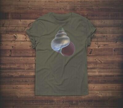 3D SeaShell T-shirt Design 1B for sale