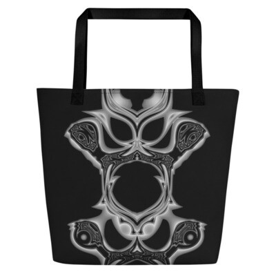 Duality's Masquerade: Bag - Beach or Groceries