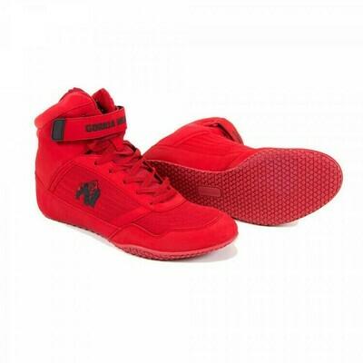 GORILLA WEAR HIGH TOPS RED