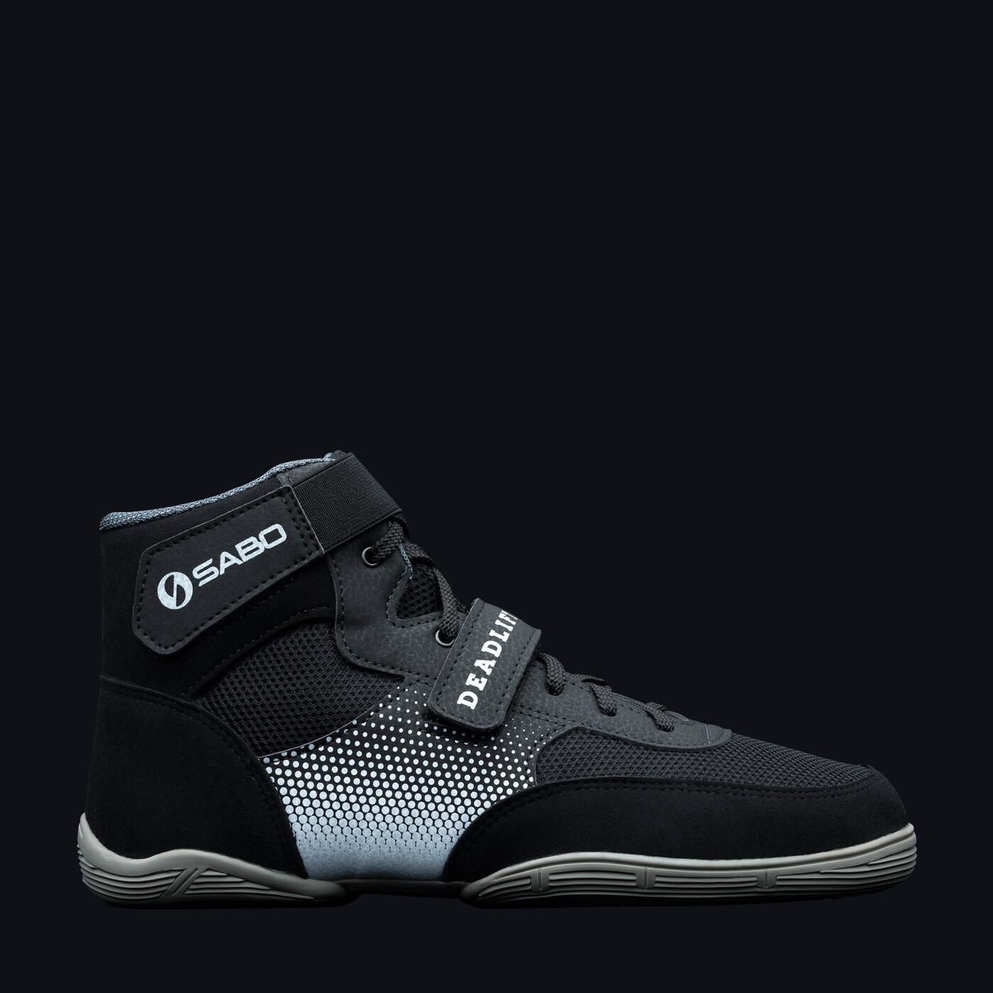 SABO DEADLIFT 1 BLACK powerlifting deadlift gym shoes