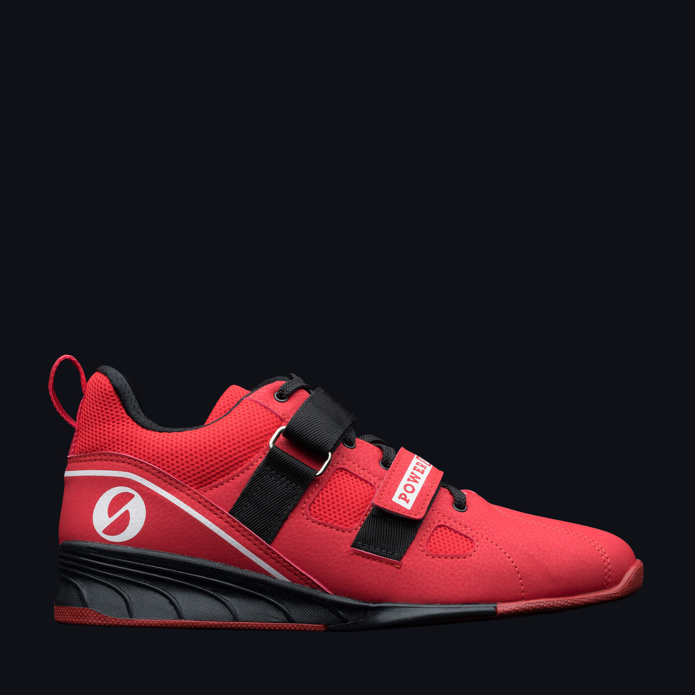 SABO POWERLIFT RED weightlifting powerlifting crossfit gym shoes