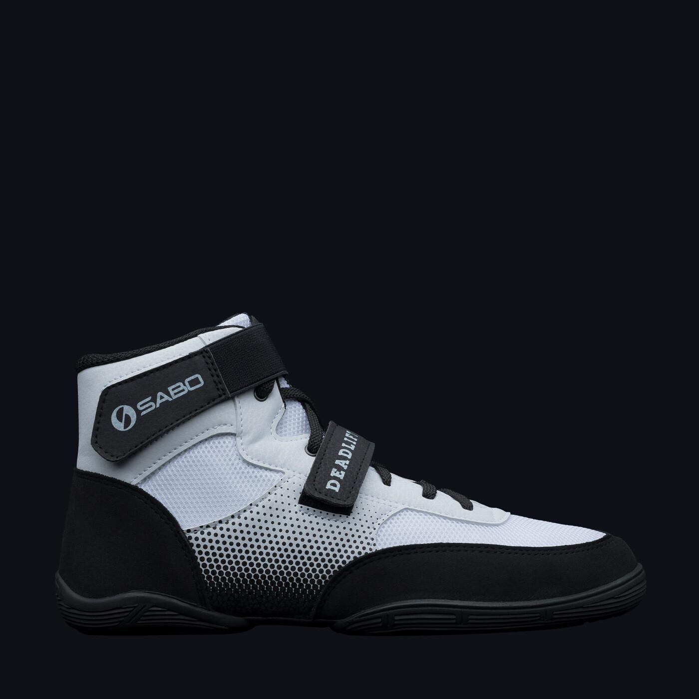SABO DEADLIFT 1 WHITE powerlifting deadlift gym shoes