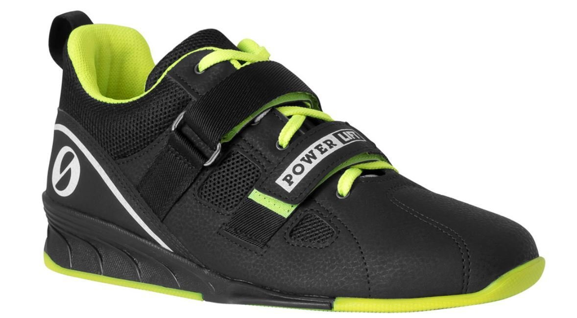 SABO POWERLIFT LIME weightlifting powerlifting crossfit gym shoes