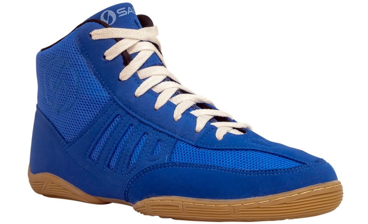 SABO SLAY BLUE wrestling gym deadlift shoes