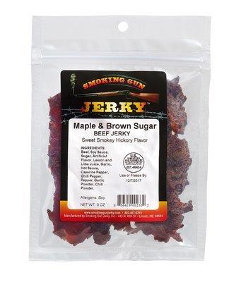 Maple & Brown Sugar Beef Jerky, 2.75 oz. Pkg.