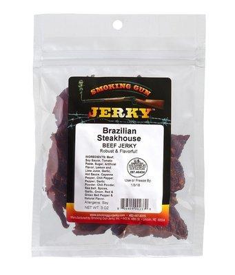 Brazilian Steakhouse Beef Jerky, 2.75 oz. Pkg.