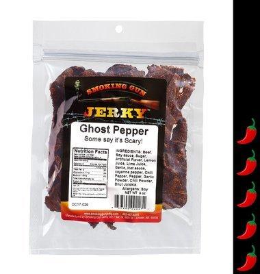 Ghost Pepper Beef Jerky, 2.75 oz. Pkg.