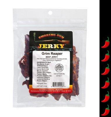 Grim Reaper Beef Jerky 2.75 oz. Pkg.
