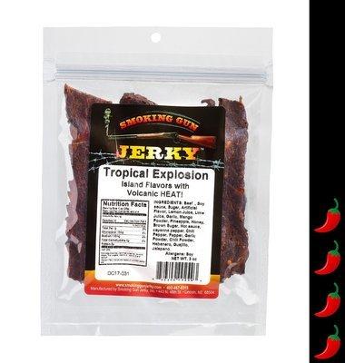 Tropical Explosion Beef Jerky, 2.75 oz. Pkg.