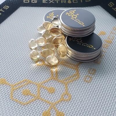 25mg CBD Gel Capsules (30 caps)