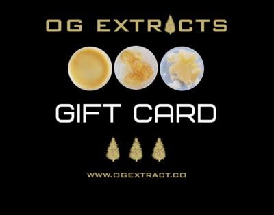 OG Online Gift Card