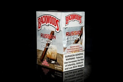 Backwoods Cigars Pack of 5 - Russian Cream