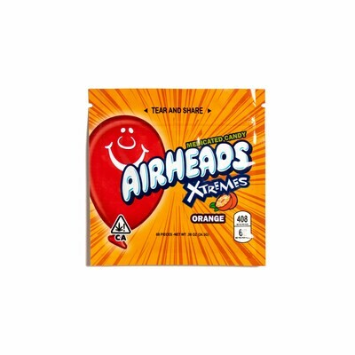 500mg THC Infused Airheads - Orange