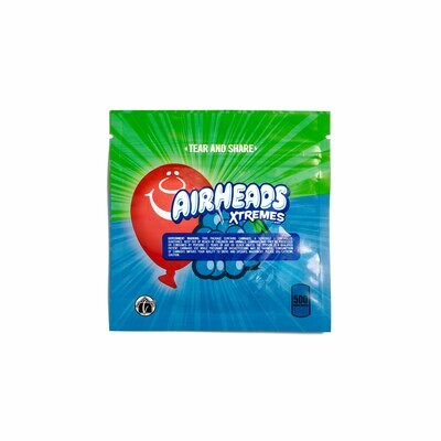 500mg THC Infused Airheads - Bluest Raspberry