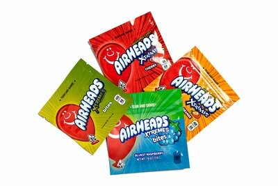 500mg THC Infused Airheads - Strawberry Sour