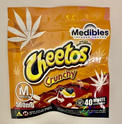 500mg THC Infused Cheetos