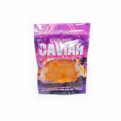 100mg THC Infused Cosmic Caviar Gummies - Orange