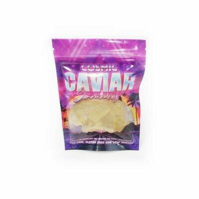 100mg THC Infused Cosmic Caviar Gummies - Pineapple