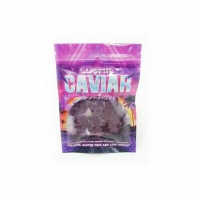 100mg THC Infused Cosmic Caviar Gummies - Grape
