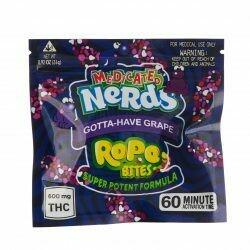 600mg THC Medicated Nerd Rope Bites Gotta-Have Grap - BOGO UNTIL APRIL 20th