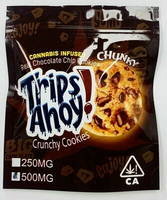 500mg THC Medicated Chunky Trips Ahoy! Cookie - BOGO UNTIL APRIL 20th