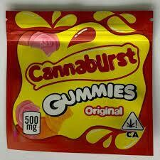 500mg THC Medicated Cannaburst Gummies Original - BOGO UNTIL APRIL 20th