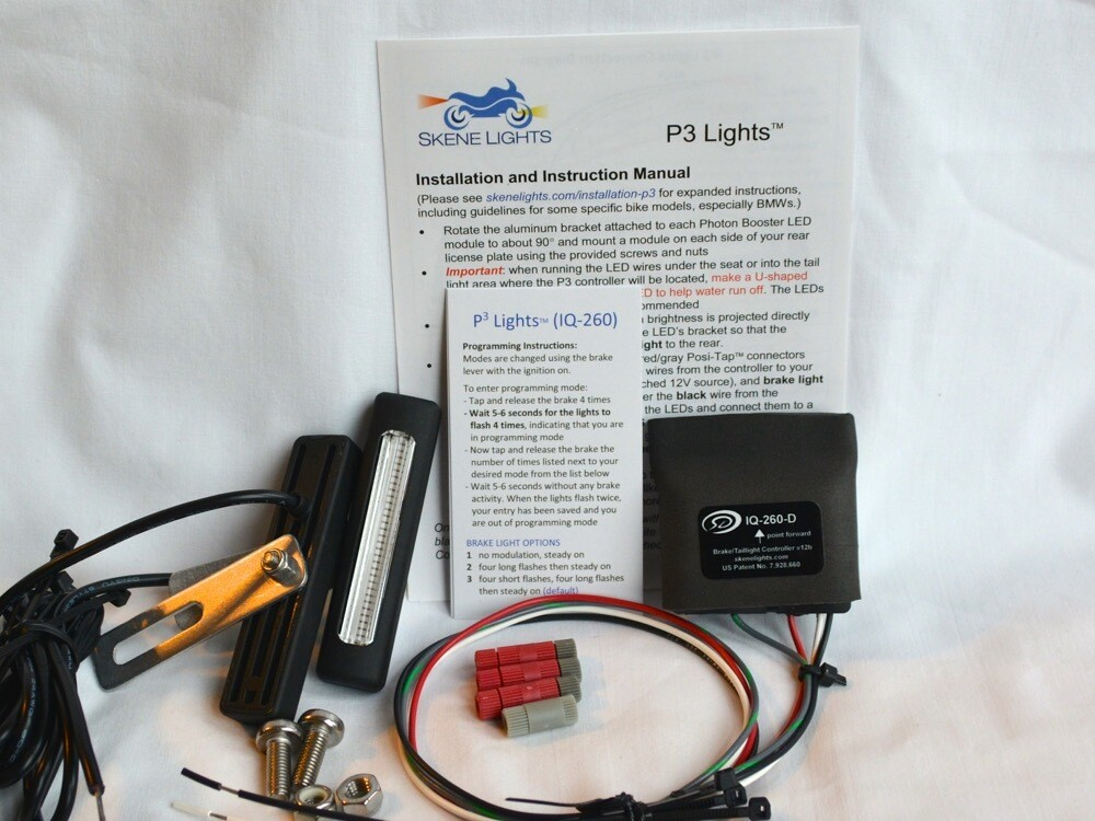 P3 Lights with Decelerometer & Turn Signals