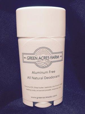 Aluminum Free All Natural Deodorant