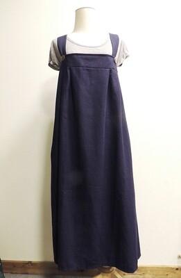 サロペットスカート<グリーン・ネイビー>