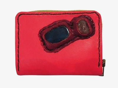 ポピーレッドのコンパクトなお財布