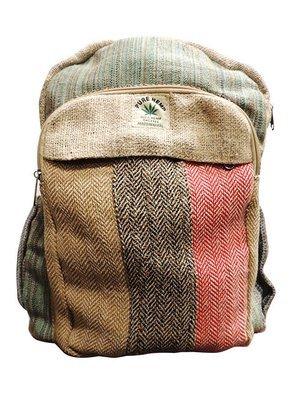 Hemp backpack Nepal/麻とゲリコットンのリュック