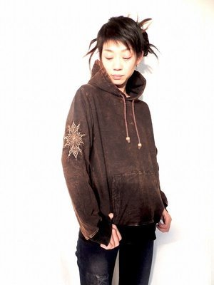 ★emico ×COSMICコラボ★刺繍パーカー/3色